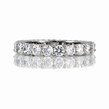 Emitations Nancys CZ Stackable Eternity Band Ring