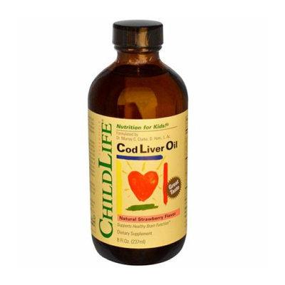 Childlife Cod Liver Oil Strawberry 8 fl oz