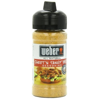 Weber Grill Seasoning Sweet'N Tangy BBQ, 3-Ounce (Pack of 6)