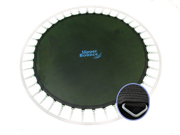 Upper Bounce 13' Trampoline Jumping Mat fits for 13 FT. Round Frames with 84 V-Rings for 7