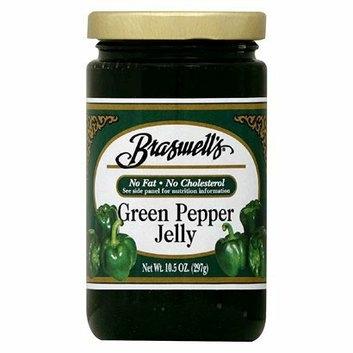Braswell 's Green Pepper Jelly 10.5 oz