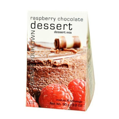 Foxy Gourmet Raspberry Chocolate Dessert Mix, 3.20-Ounce Boxes (Pack of 3)