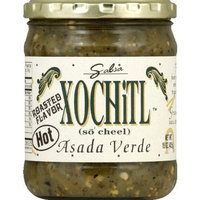 Xochitl Asada Verde Green Hot Salsa, 15 Ounce -- 6 per case.