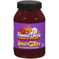 Famous Dave's: Sweet & Zesty BBQ Sauce, 38 Oz