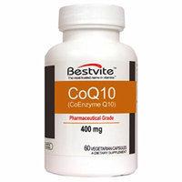 Coenzme CoQ10 400mg (60 Vegetarian Capsules) Naturally Fermented