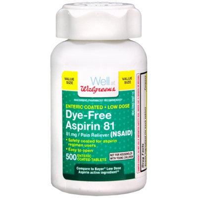 Walgreens Lo Dose Aspirin Tablets, 500 ea
