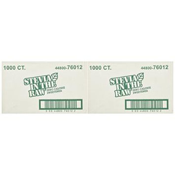 Stevia Sweetener in the Raw 1000 Ct Box (Pack of 2)