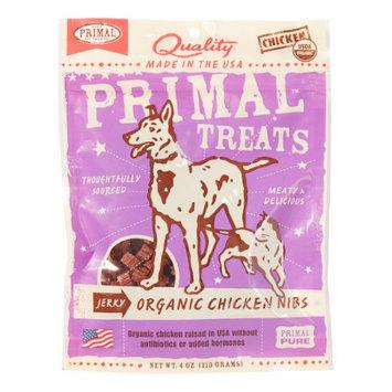 Primal Jerky Chicken Nibs Dog Treats