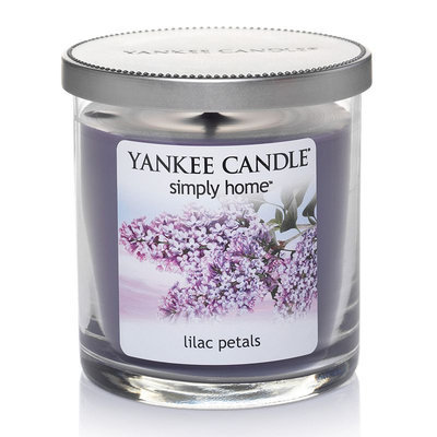 Yankee Candle simply home Lilac Petals 7-oz. Jar Candle (Purple)