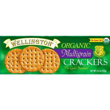 Wellington Organic Multigrain Crackers, 5.3-Ounce Boxes (Pack of 6)