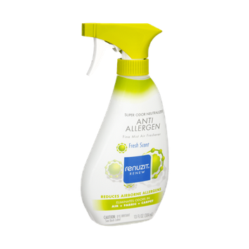 Renuzit Renew Super Odor Neutralizer Anti Allergen Fresh Scent Air Freshener