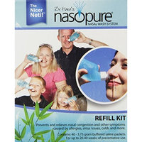 Nasopure Refill Kit - 40 buffered salt packets