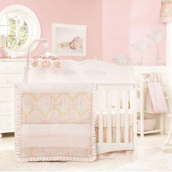 Kids Line Lily 4 Piece Crib Set- Pink