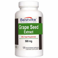 Grapeseed Extract 500mg (120 Vegetarian Capsules)