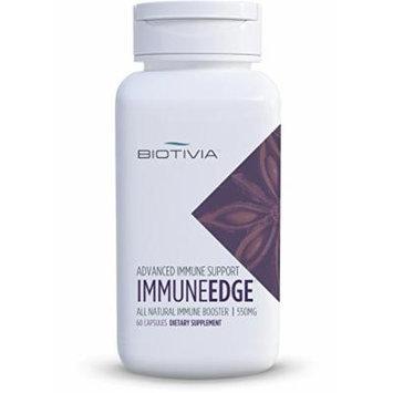 Biotivia Immune Edge+, Immune Defense Support Vegetarian Capsules, 60-Count