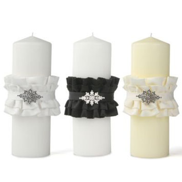 Ivy Lane Design Wedding Accessories Isabella Pillar Unity Candle, Ivory