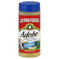 La Preferida Adobo Sin Pimienta, 16.5-Ounce (Pack of 6)