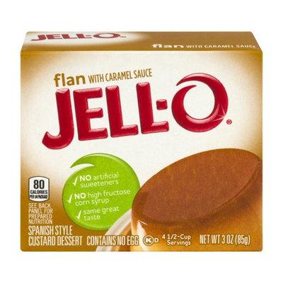JELL-O Flan Dessert Mix with Caramel Sauce