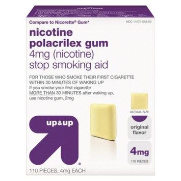 up & up up&up Nicotine Gum 4mg Original - 110 Count