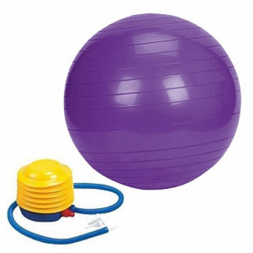 Sivan Health And Fitness 52cm Anti-burst gym ball, Purple, 1 ea