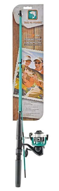 Southbend Sporting Goods Inc. Take Me Fishing Spinning Combo - 4'6