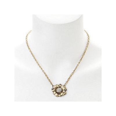Elizabeth Cole Jewelry Crystal Flower Necklace