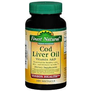Finest Natural Cod Liver Oil Softgels