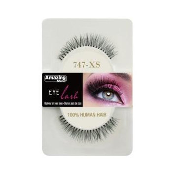 Amazing Shine Human Hair False Eyelashes - 747-XS