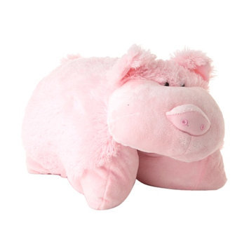 Pillow Pets 18 Inch Folding Stuffed Animal - Wiggly Pig Plush Toy
