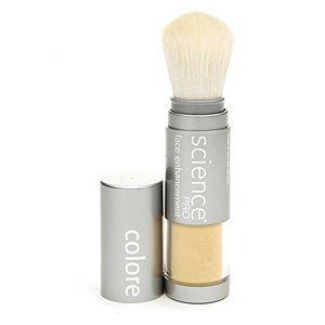 Colorescience Mineral Golden Corrector Powder Brush