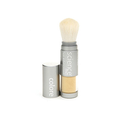 Colorescience Mineral Golden Corrector Powder Brush