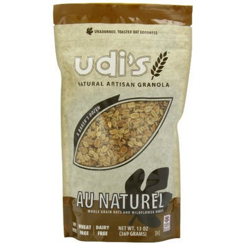 Udi's Au Naturel Granola, 13-Ounce Bags (Pack of 6)