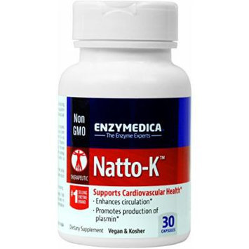 Enzymedica - Natto-K 30 count - Supports Cardiovascular health