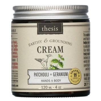 Antho Organic Body Cream - Raw Shea Butter - Exotic Patchouli, Geranium