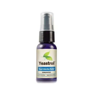 Yeastrol Natural Homeopathic Relief from Yeast Infections 2 ~ Spray Bottles