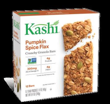 Kashi® Pumpkin Spice Flax Crunchy Granola Bars