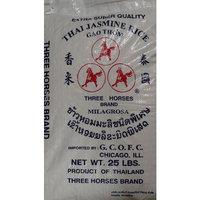 Three Horses Thai Jasmine Rice 25lb