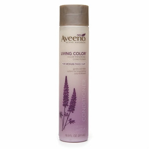 Aveeno Active Naturals Living Color Color Preserving Conditioner for Medium-Thick Hair