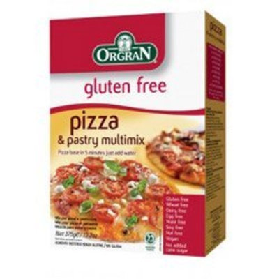 Orgran Pizza and Pastry Multimix Gluten Free -- 13.2 oz