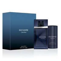 Encounter by Clavin Klein for Men - 2 Pc Gift Set 3.4oz EDT Spray, 2.6oz Deodorant Stick
