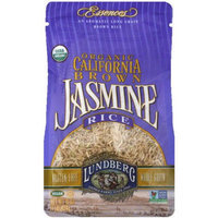 Lundberg Family Farms Organic California Brown Jasmine Rice, 16 oz, (Pack of 6)