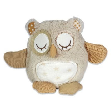 Cloud B Nighty Night Owl On The Go Plush Sound Soother (Natural)