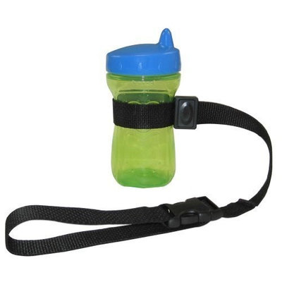 PBnJ Baby SippyPal Cup Holder, Black (Discontinued by Manufacturer)