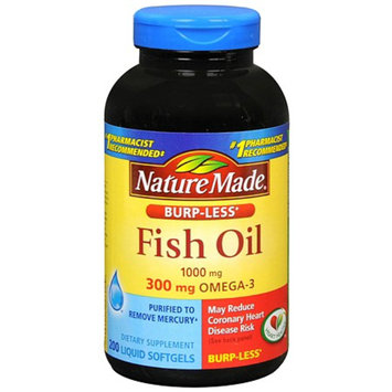 Nature Made Fish Oil 1000 mg Dietary Supplement Liquid Softgels