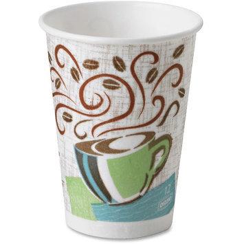 DIXIE 5342CDSBP Disposable Hot Cup,12 oz, White, PK960
