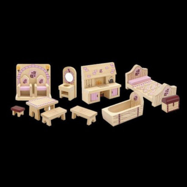Slide: Melissa & Doug Princess Castle Furniture