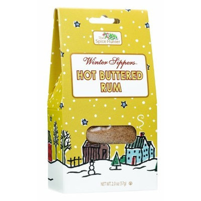 The Spice Hunter Hot Buttered Rum Gable Top, 2-Ounce Packages (Pack of 6)