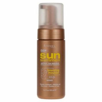 Rimmel London Sun Shimmer Instant Tanning Bronzing Mousse