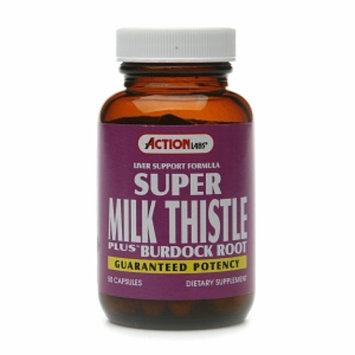 Action Labs Super Milk Thistle Plus Burdock Root