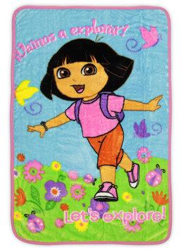 Nickelodeon Dora the Explorer Toddler Girl's Fleece Blanket - STEVENS BABY BOOM LTD.